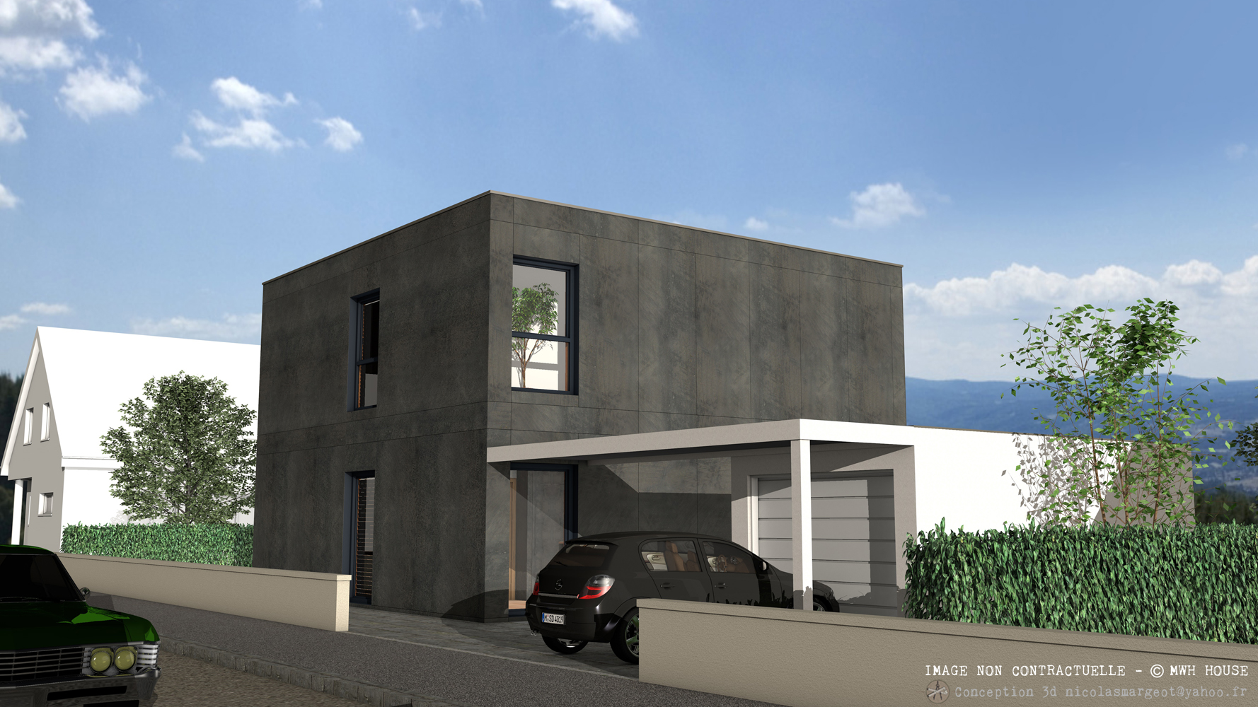 Crepi Exterieur Gris Anthracite notre collection | mwh house